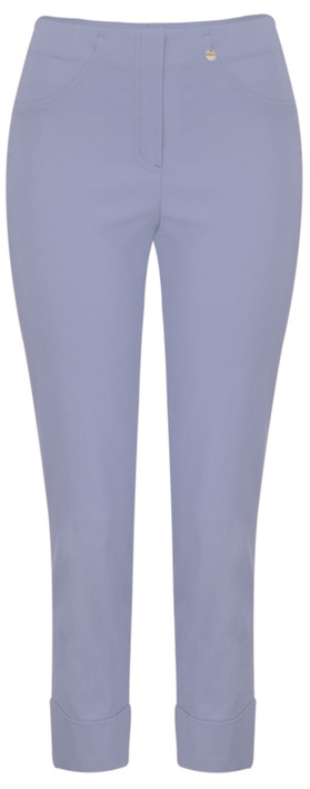Robell Trousers Bella 09 Ankle Length 7/8 Cuff Trouser Light Steel Blue 62