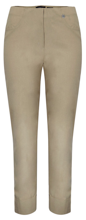 Robell Trousers Bella 09 Ankle Length 7/8 Cuff Trouser Taupe 17