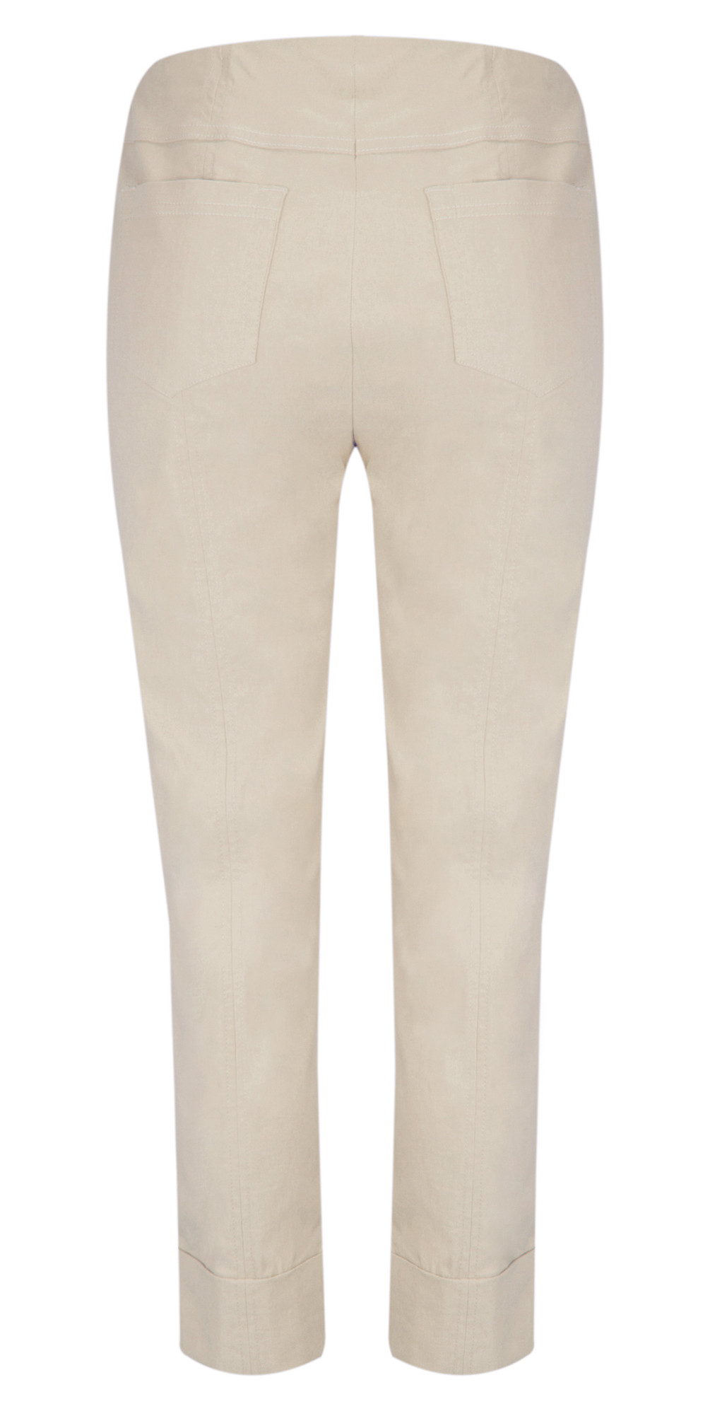 Bella 09 Light Taupe Ankle Length 7/8 Cuff Trouser main image