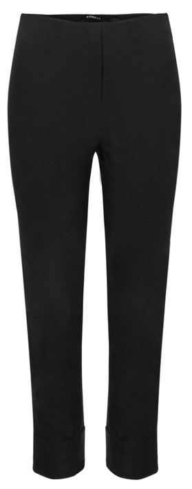 Robell Trousers Bella 09 Ankle Length 7/8 Cuff Trouser Black 90