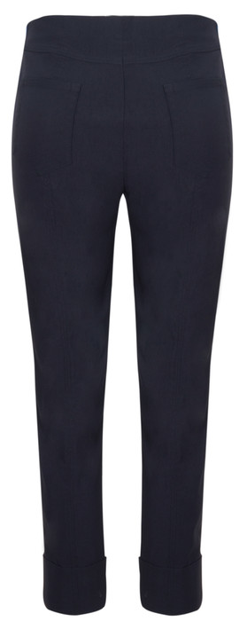 Robell Trousers Bella 09 Ankle Length 7/8 Cuff Trouser Navy 69