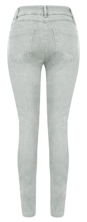 Robell Trousers Star Power Stretch Skinny Jean Grey