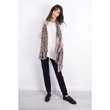 Butterfly Hudie Leni Leopard Scarf - Pink