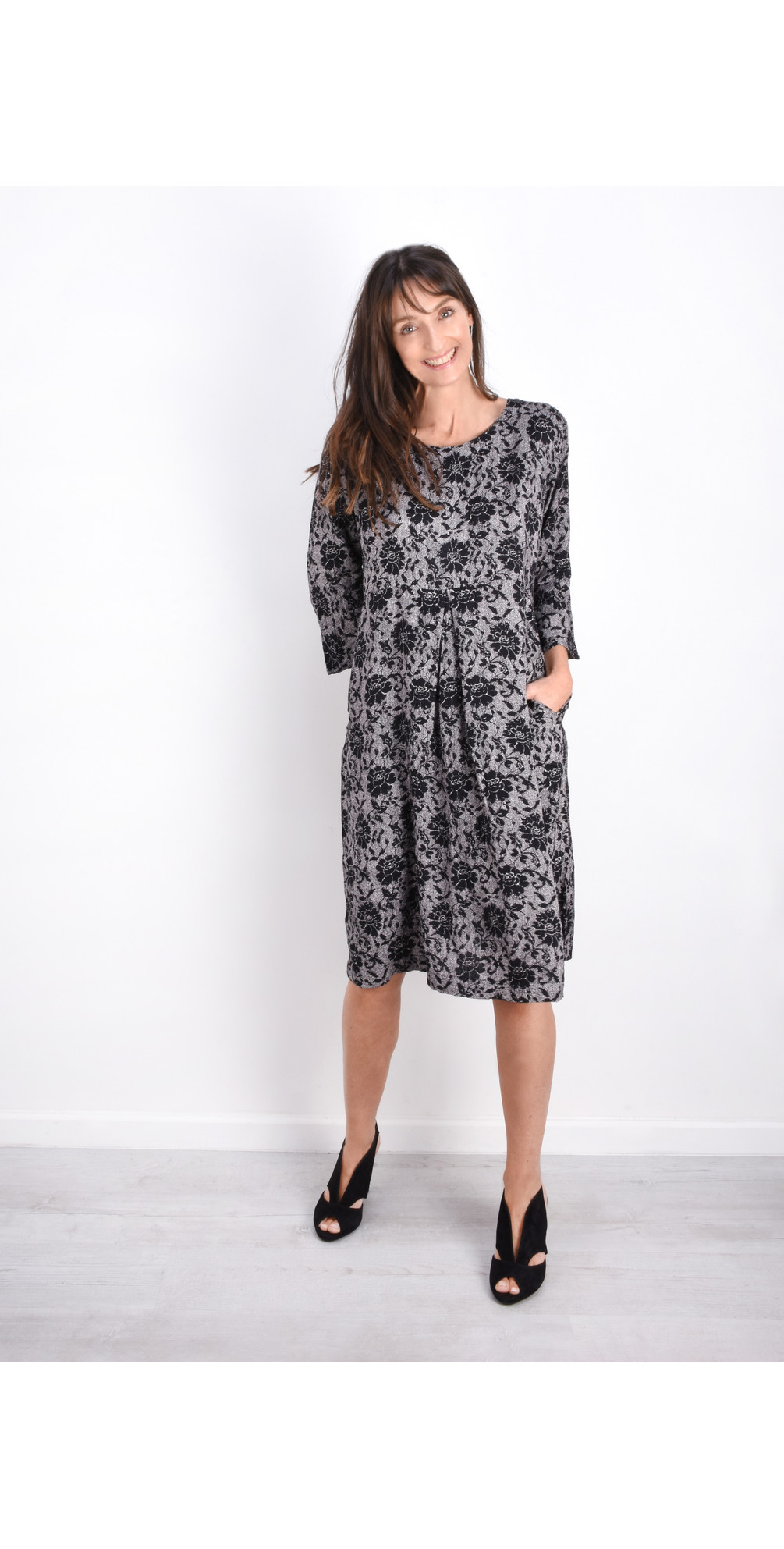 Nunni Floral Print Dress main image