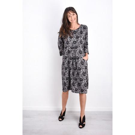 Masai Clothing Nunni Floral Print Dress - Black