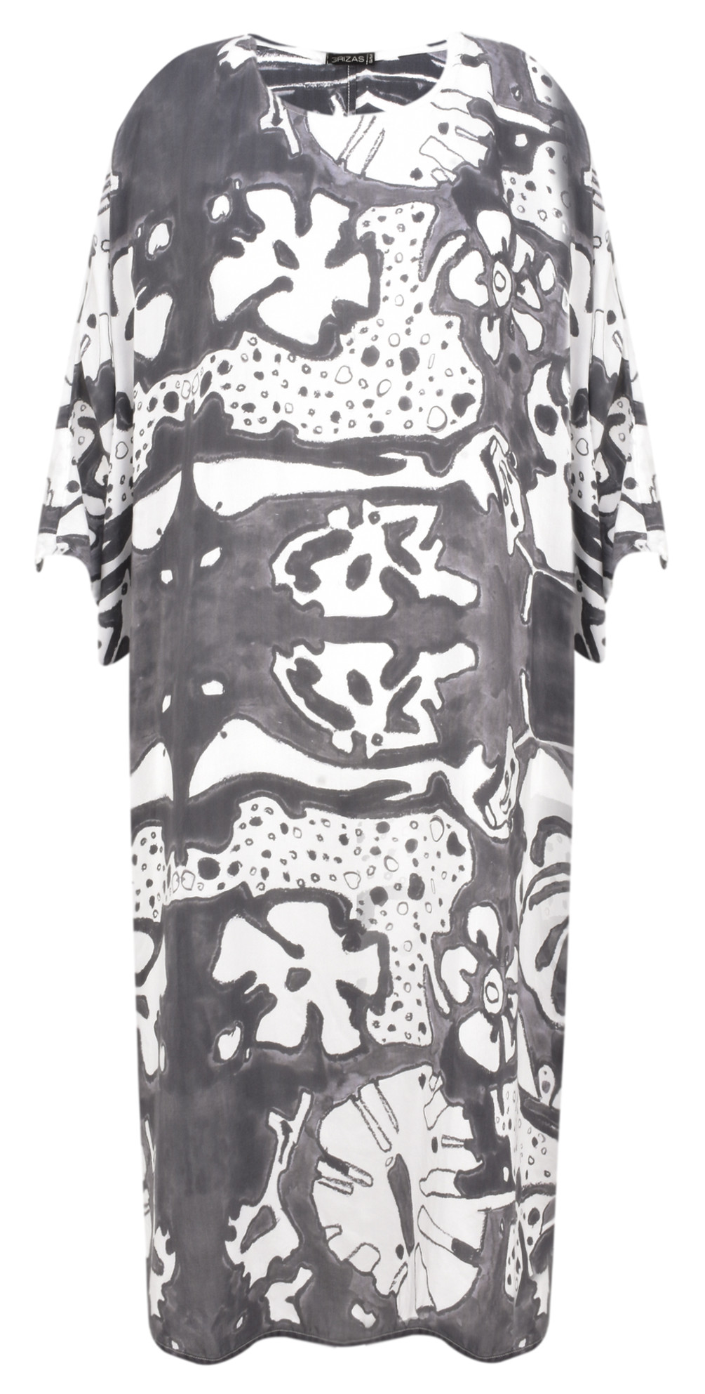 Vasara Printed Jersey Oversized Tunic main image
