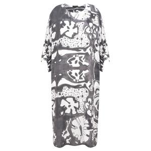 Grizas Vasara Printed Jersey Oversized Tunic