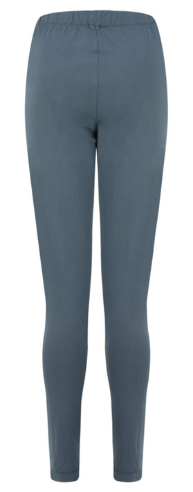 Grizas Elze Plain Cotton Leggings Charcoal
