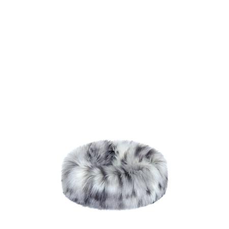 Helen Moore Faux Fur Huff - Grey