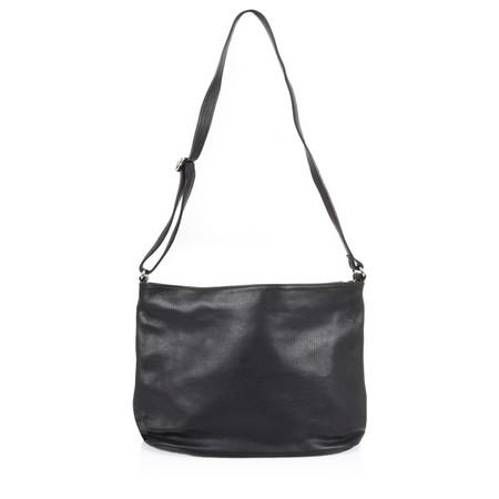 Gemini Label  Mia Leather Bag  - Black