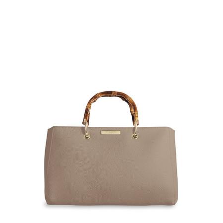 Katie Loxton Avery Bamboo Handbag - Brown