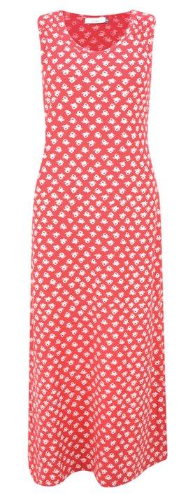Adini Ooty Print Shelly Maxi Dress Salsa Red
