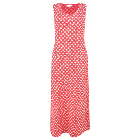Adini Ooty Print Shelly Maxi Dress - Red