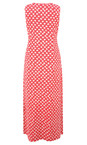 Adini Salsa Red Ooty Print Shelly Maxi Dress