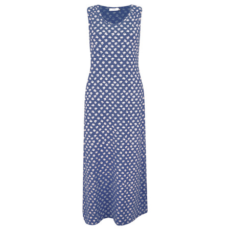 Adini Ooty Print Shelly Maxi Dress - Blue