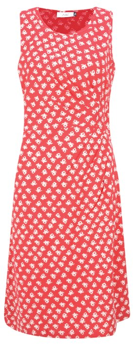 Adini Ooty Print Ooty Dress Salsa Red