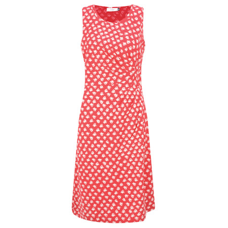 Adini Ooty Print Ooty Dress - Red