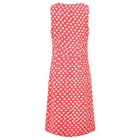 Adini Ooty Print Ooty Dress - Red