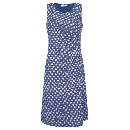 Adini Ooty Print Ooty Dress - Blue