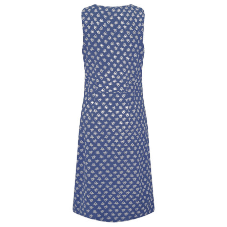 Adini Ooty Print Ooty Dress - Blue
