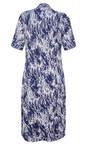 Adini Navy Petula Print Courtney Dress
