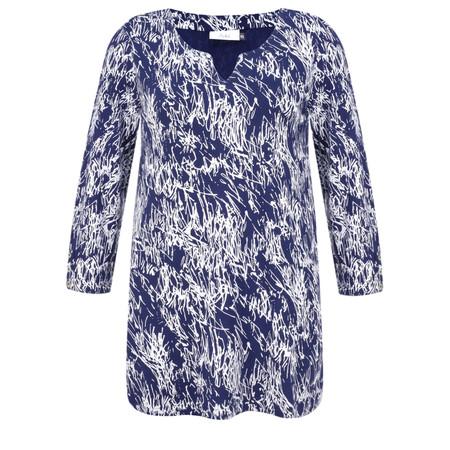 Adini Petula Print Dakota Tunic - Blue
