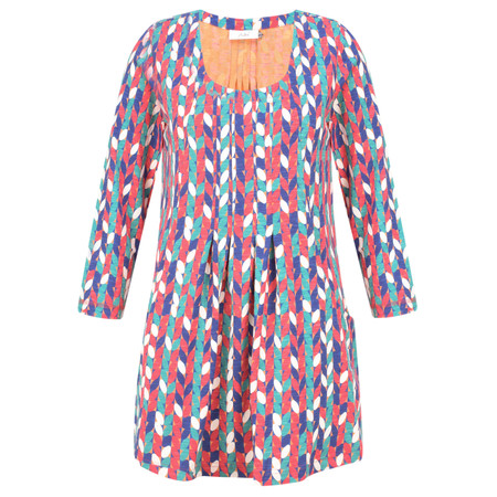 Adini Seville Print Ashley Tunic - Orange