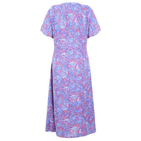 Adini Cora Print Cora Dress - Blue