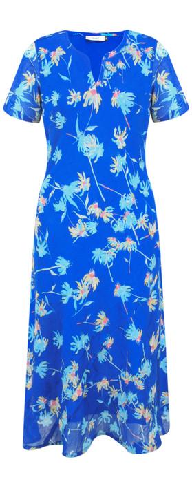 Adini Camilla Print Camilla Dress Blue