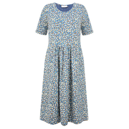 Adini Triple Spot Lizzie Dress - Blue