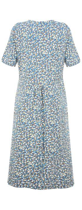 Adini Triple Spot Lizzie Dress French Blue