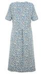 Adini French Blue Triple Spot Lizzie Dress