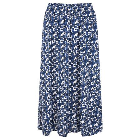 Adini Shimla Print Bonnie Skirt - Blue