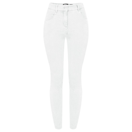 Robell Trousers Star Power Stretch Skinny Jean - White