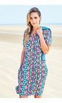 Adini Tangerine Seville Print Seville Dress