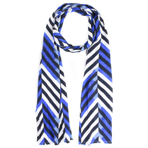 Masai Clothing Along Chevron Print Scarf
