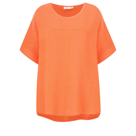 Masai Clothing Daly Boucle Top - Orange