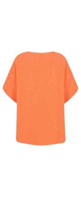 Masai Clothing Daly Boucle Top Orange