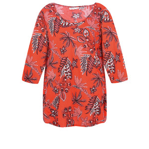 Masai Clothing Kiwi Tropical Floral Top