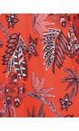 Masai Clothing Chili Org Kiwi Tropical Floral Top