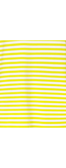 Sandwich Clothing Organic Cotton Stripe Top Warm Yellow
