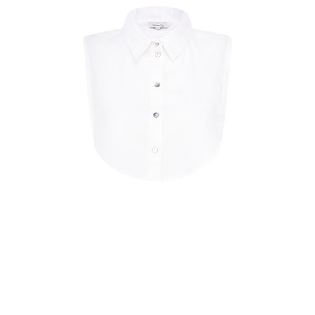 Sandwich Clothing Cotton Collar Separate - White