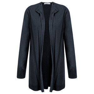 Sandwich Clothing Long Open Thin Knit Cardigan