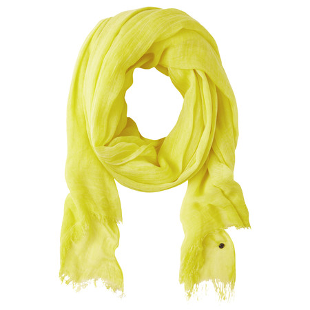 Sandwich Clothing Crinkle Dye Scarf - Yellow