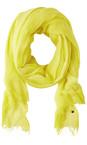 Sandwich Clothing Warm Yellow Crinkle Dye Scarf