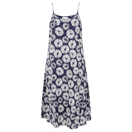 Adini Samoa Print Samoa Dress - Blue