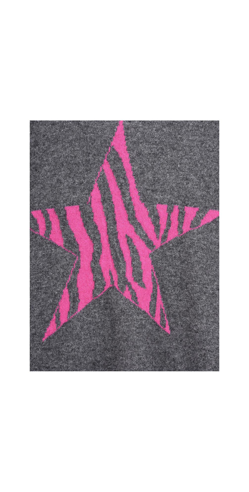 Zebra Star Cashmere Blend Jumper main image