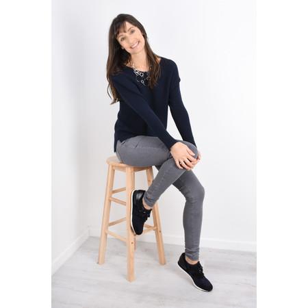 Fenella  Janey Rib Easyfit Jumper - Blue
