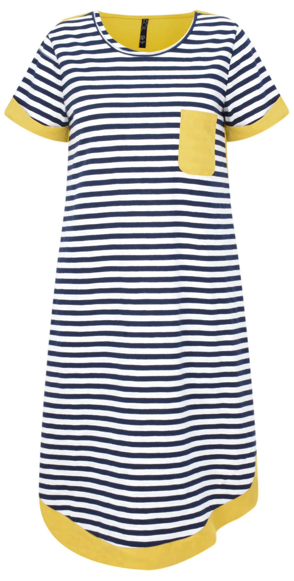 Stripe Two Tone Colour Dress main image
