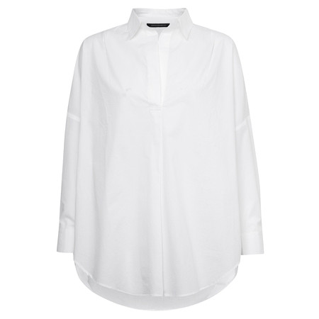 French Connection Rhodes Poplin Shirt - White